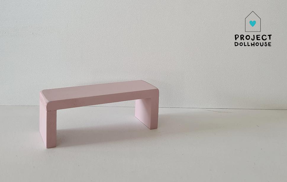 Bijzet Tafel voor Maileg Bed - Precious Pink-1