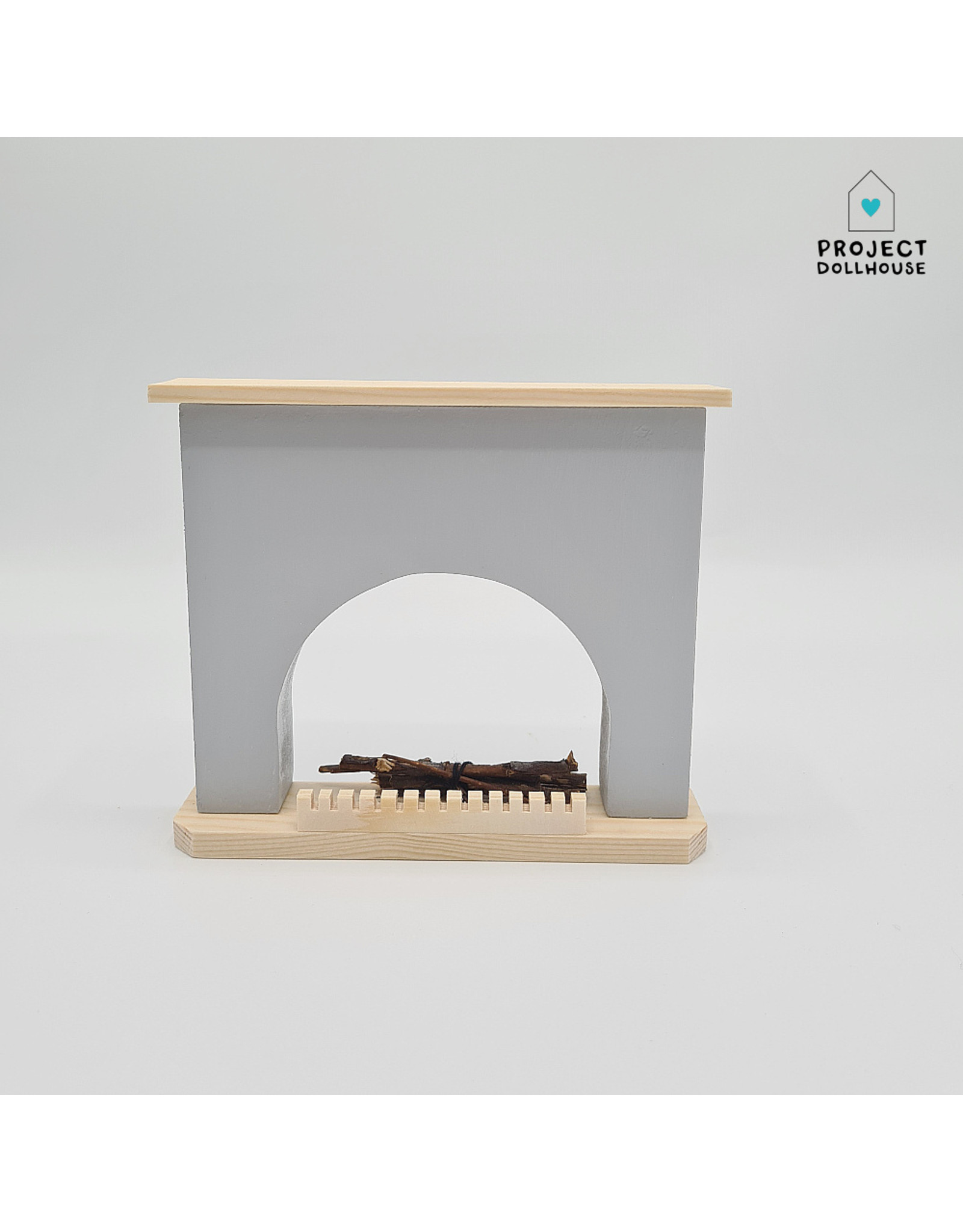 Project Dollhouse Fireplace Different Colours