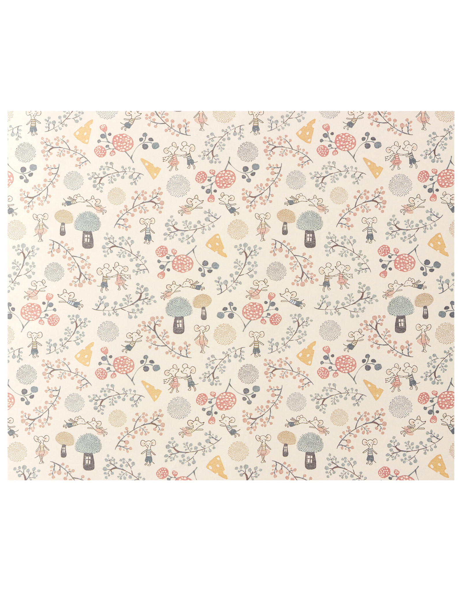 Maileg Wrapping Paper Mice Party