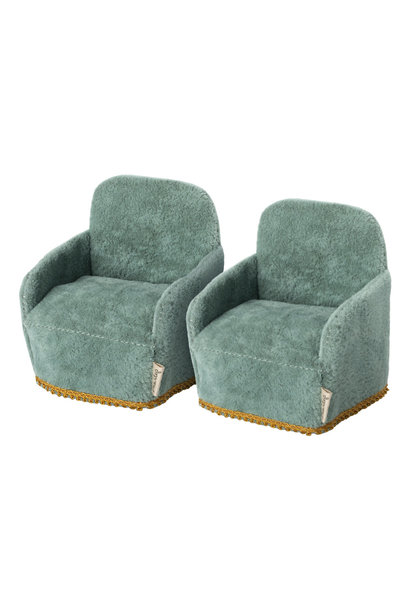 Chairs Green - Set of 2