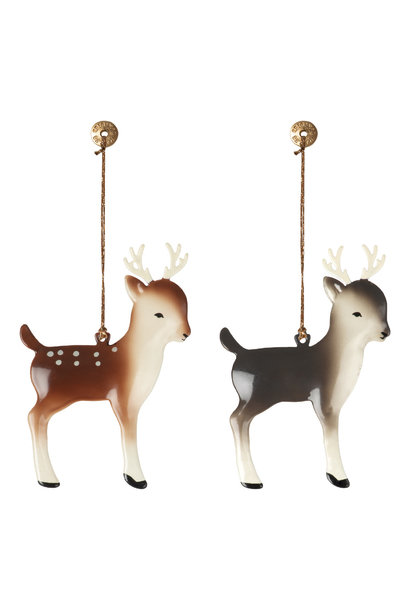 Christmas decorations Bambi with Antlers (1pc)