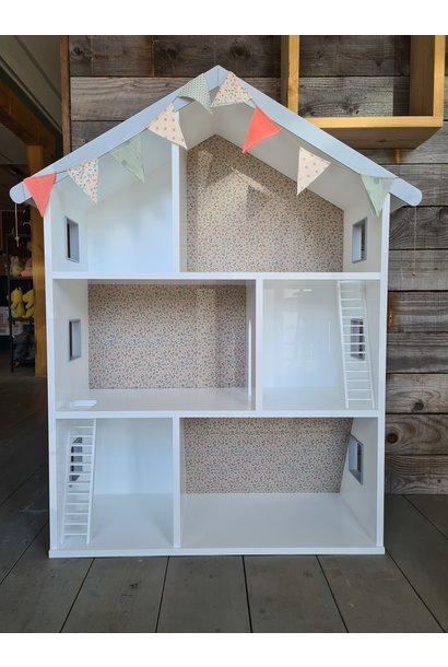 Maileg poppenhuis met trappen en behangetjes
