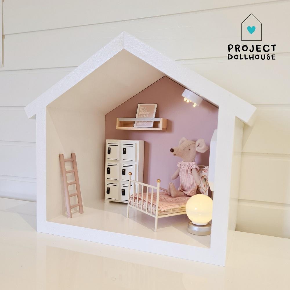 Mini Poppenhuis Huisje-3