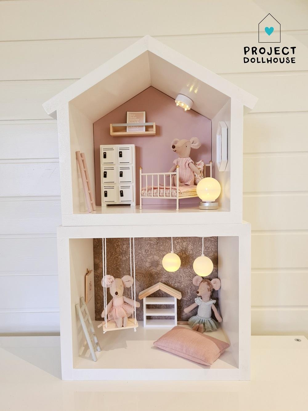 Mini Poppenhuis Huisje-5