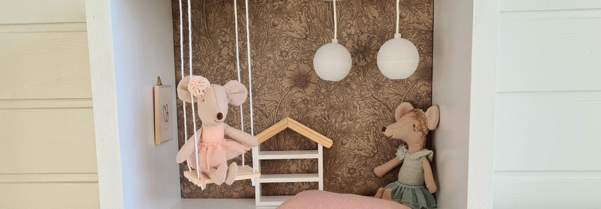 Mini Dollhouse Rectangle