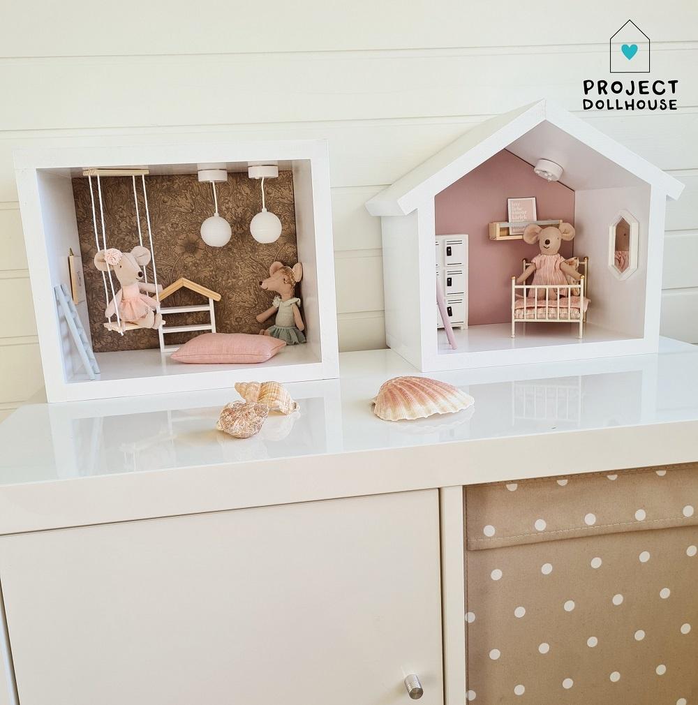 Mini Dollhouse Rectangle-5
