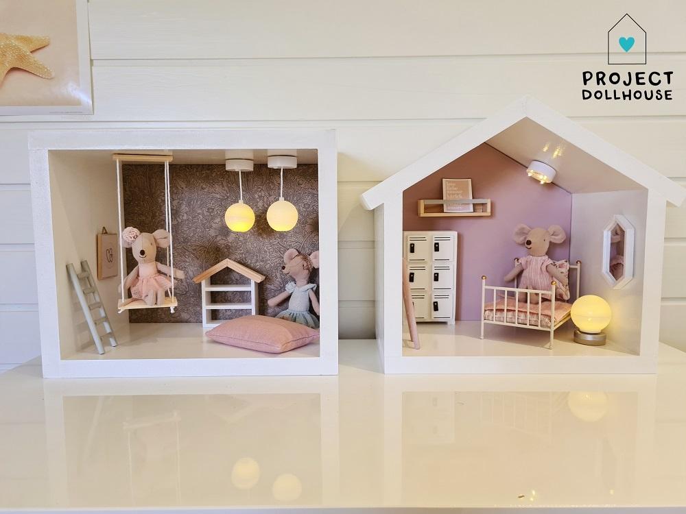 Mini Dollhouse Rectangle-7