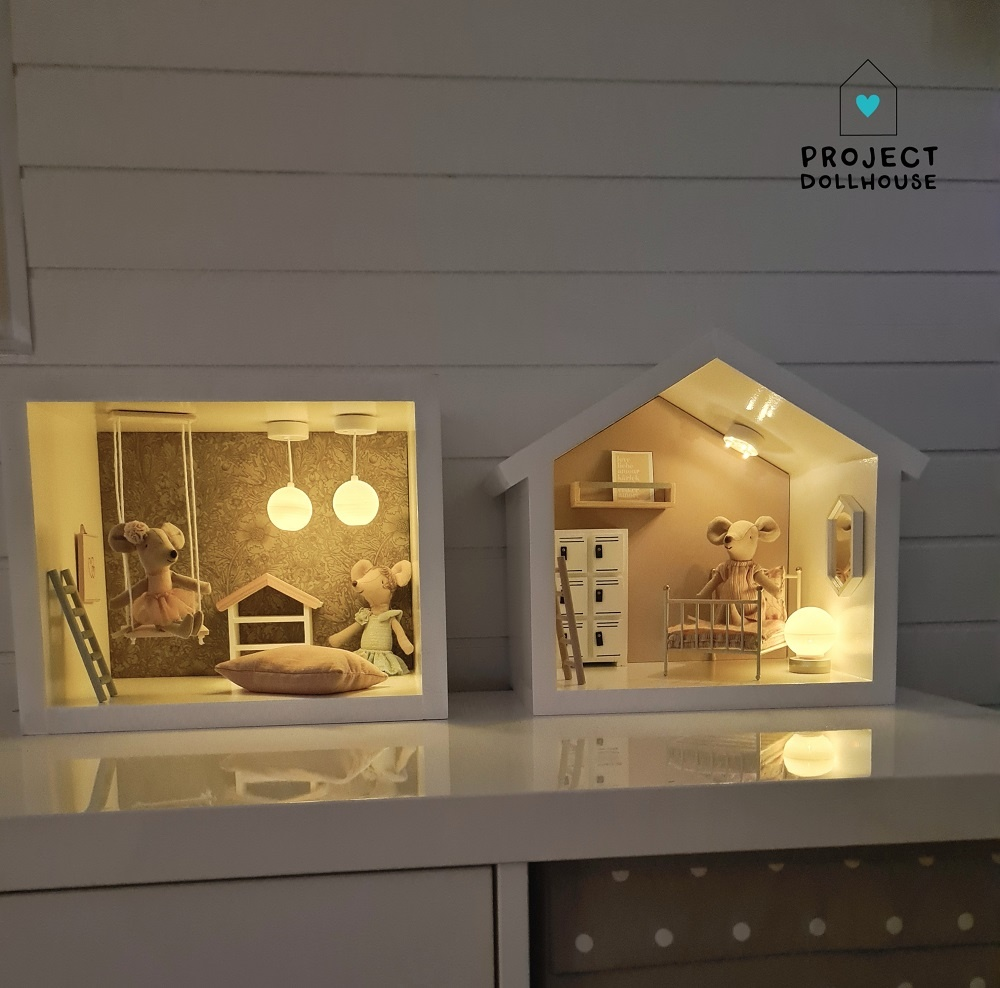 Mini Dollhouse Rectangle-8