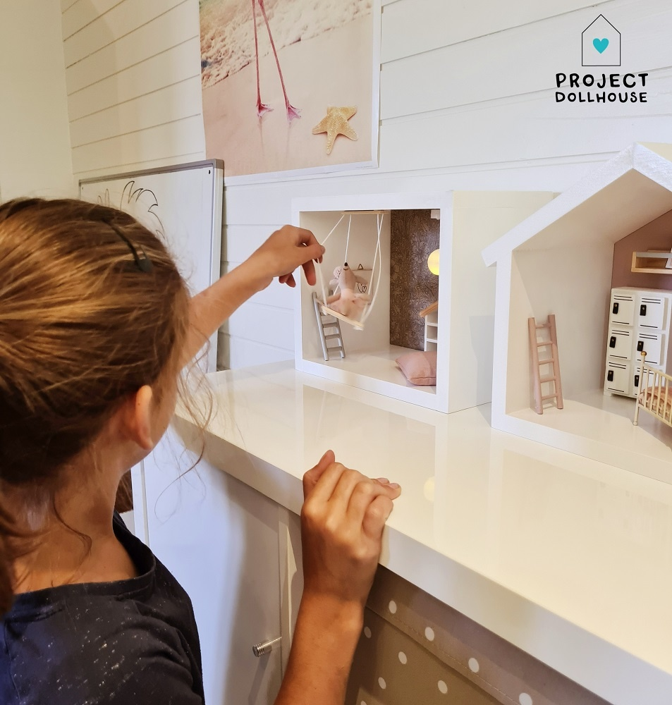 Mini Dollhouse Rectangle-2