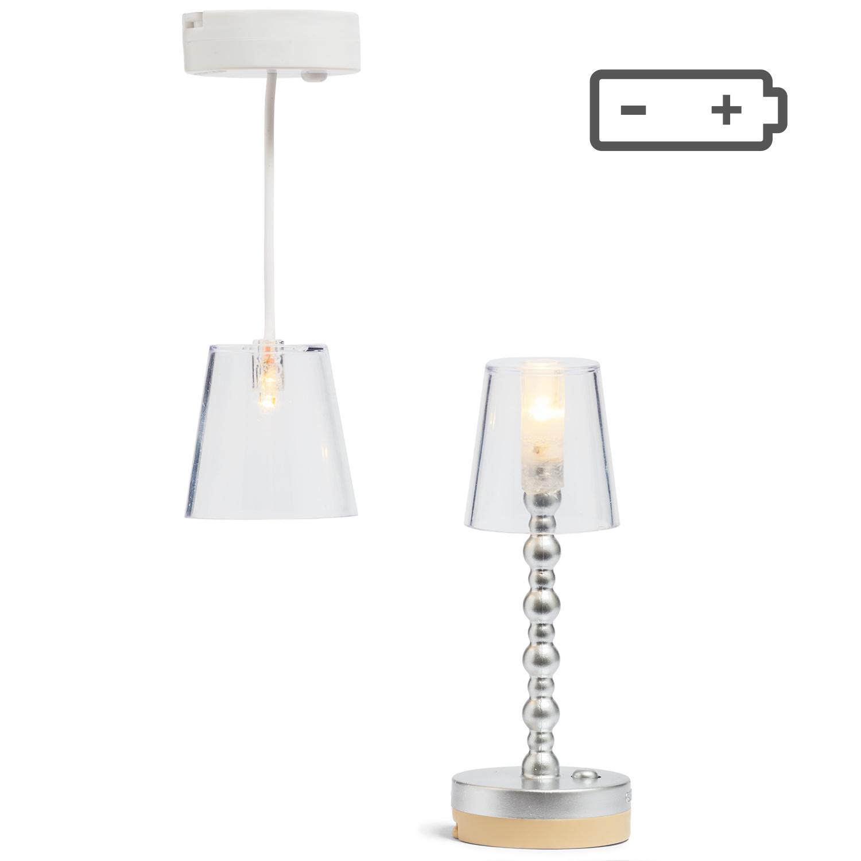 Lampen Transparant Vloer- + Hanglamp-5