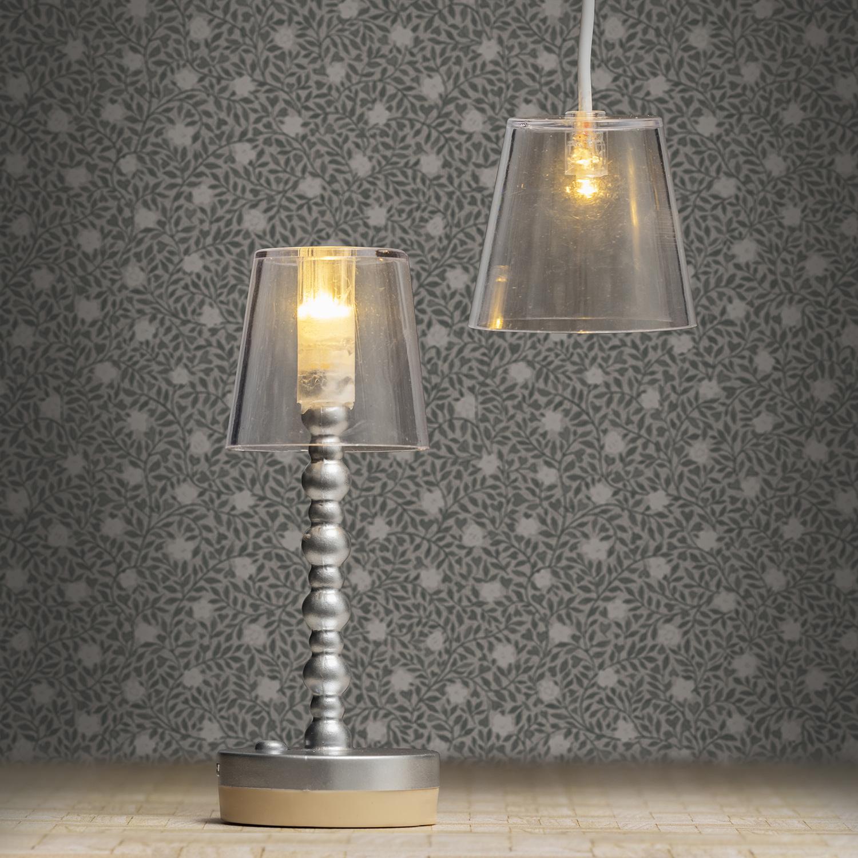 Lampen Transparant Vloer- + Hanglamp-2