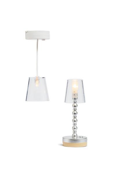 Lamps Transparent Floor + Hanging lamp