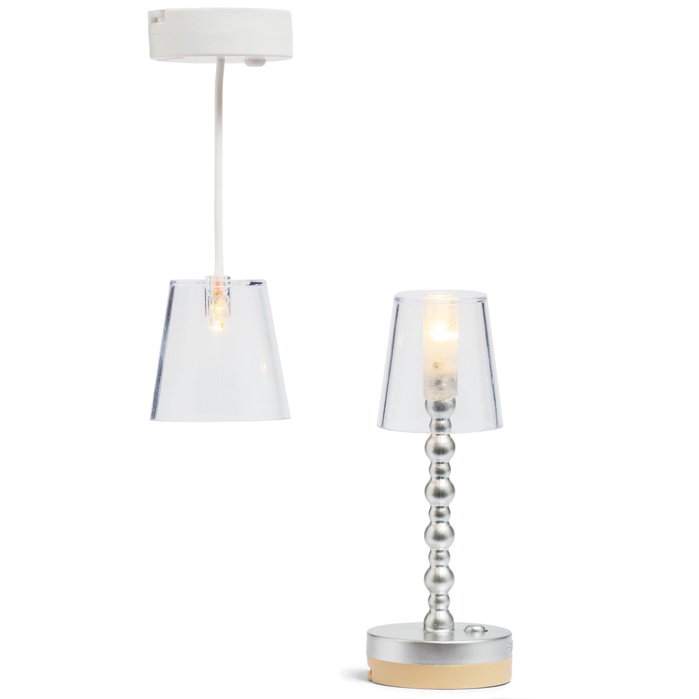 Lampen Transparant Vloer- + Hanglamp-1
