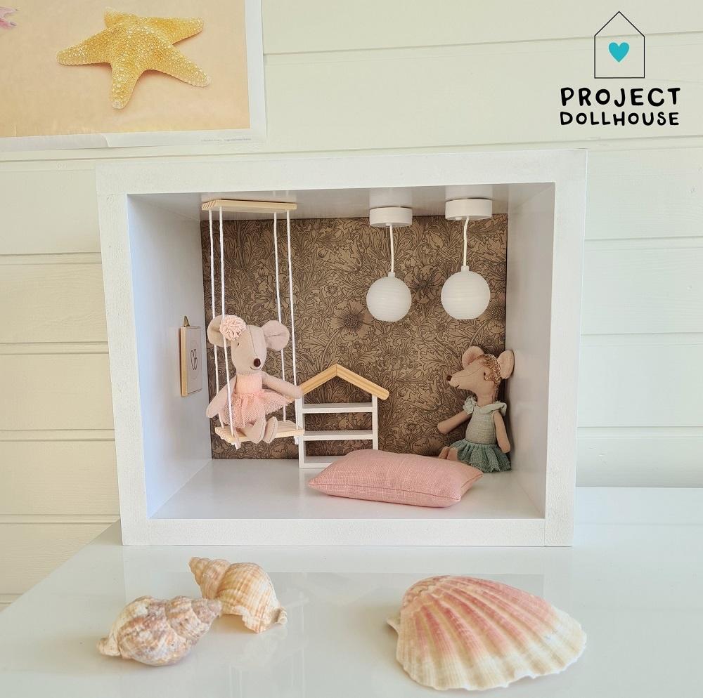 Hanglampen (wit/roze)-4