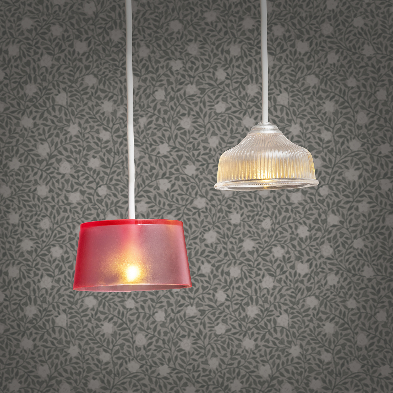 Hanglampen (wit/roze)-2