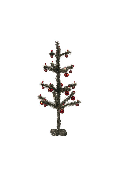 Christmas Tree Antique Silver