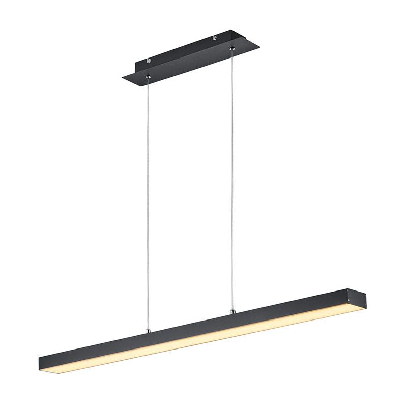 Hanglamp Agano - Aluminium - Zwart