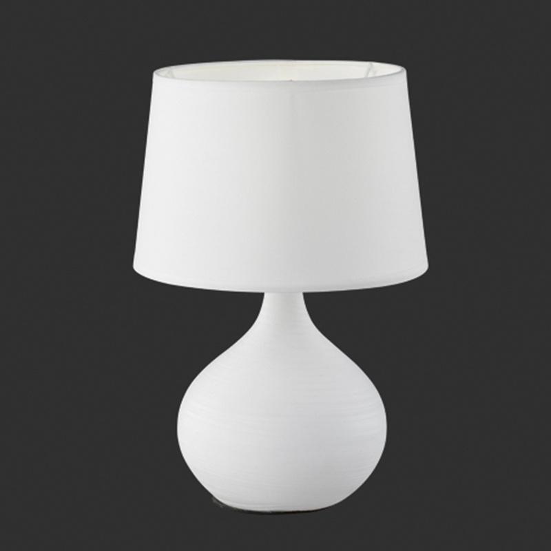 Tafellamp Martin - Keramiek - Wit