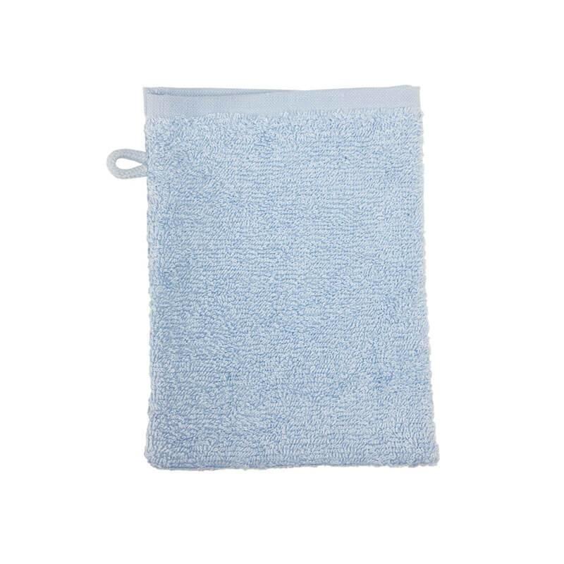 3-PACK: Washandje 16 x 21 cm - Licht Blauw