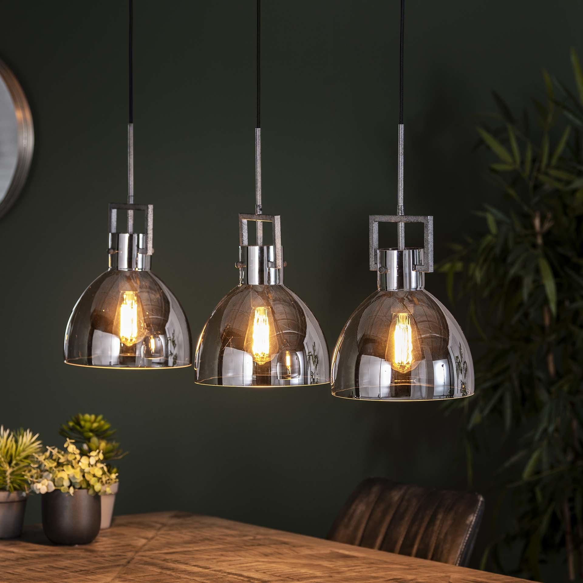 Hanglamp Davos- 3L - Transparant