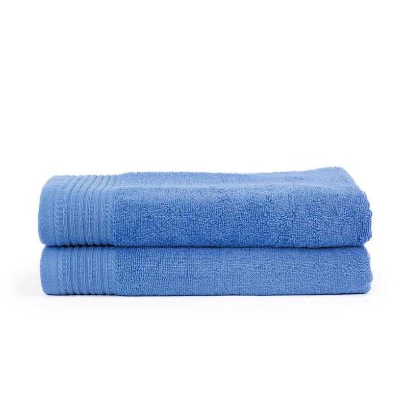 2-PACK: Handdoek Basic - 70 x 140 cm - Aqua