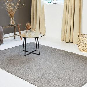 WoonQ-Vloerkleed Woolly - GrijsLifa Living-aanbieding