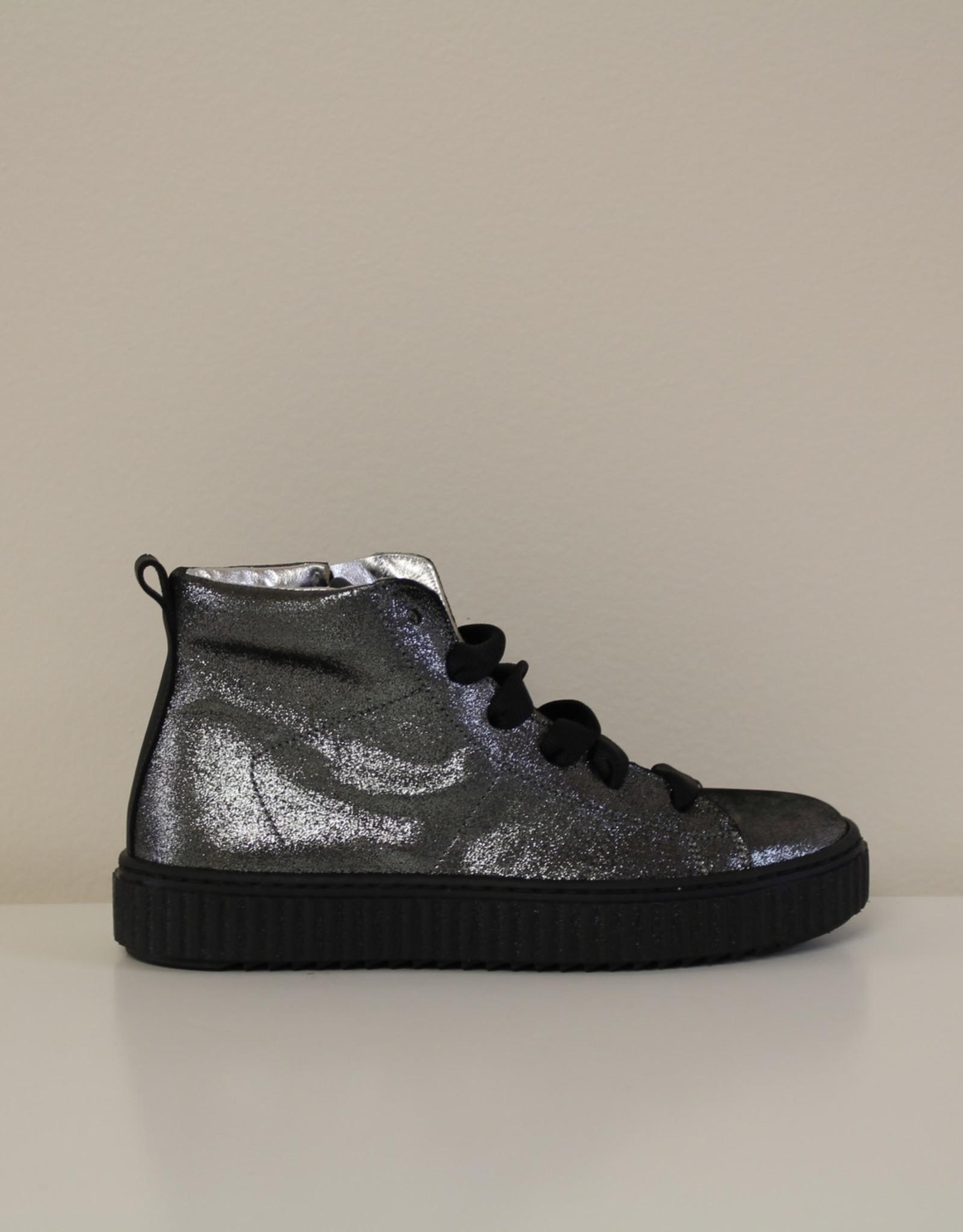 Rondinella 11183-1 grijs glitter zwart
