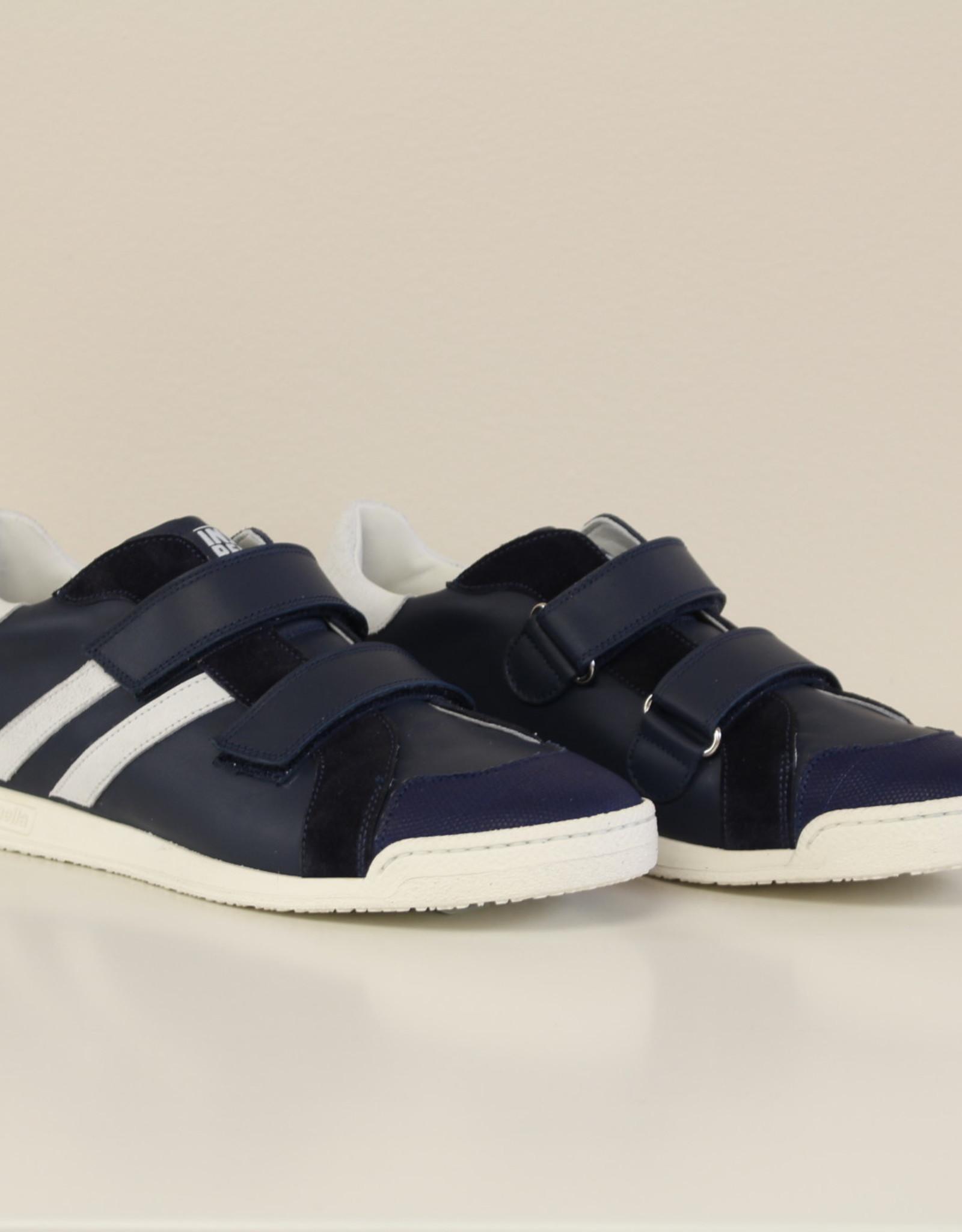 Rondinella 11298 donkerblauwe sneaker velcro