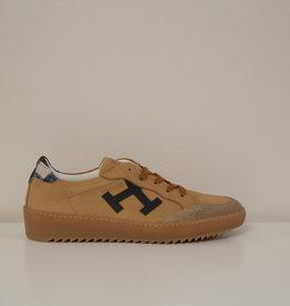 Rondinella 11538 sneaker bruin blauw