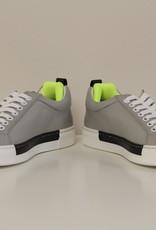 Jarrett Sneaker Zigzag grijs