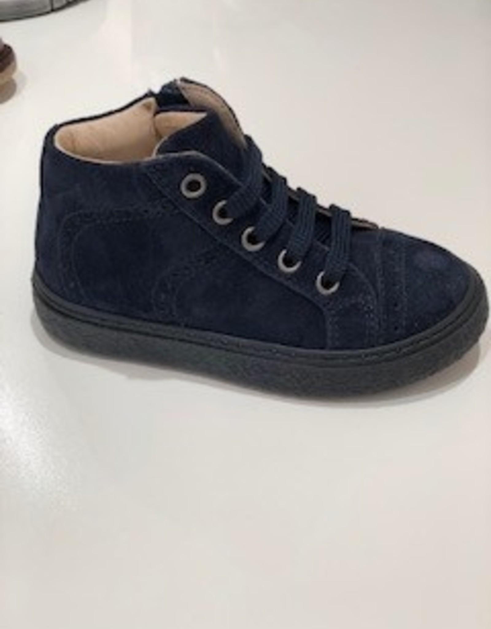 Lunella 849 blauw veter/rits
