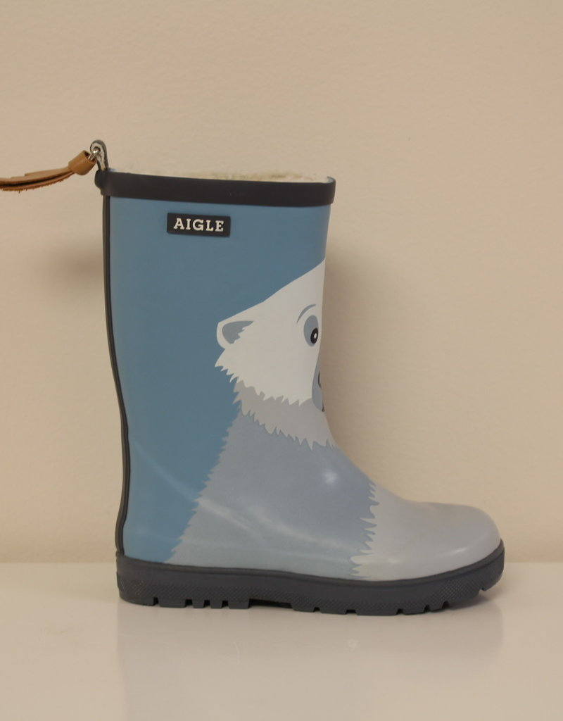 Aigle Woodypop fun fur ours