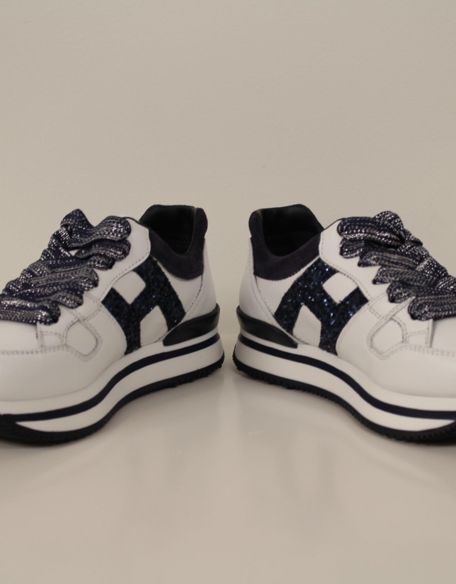 Hogan HXC2220T548GAC1563 sneaker wit/blauw