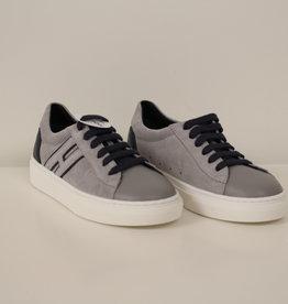 Hogan HXC3400K390HB9694M sneaker grijs/blauw