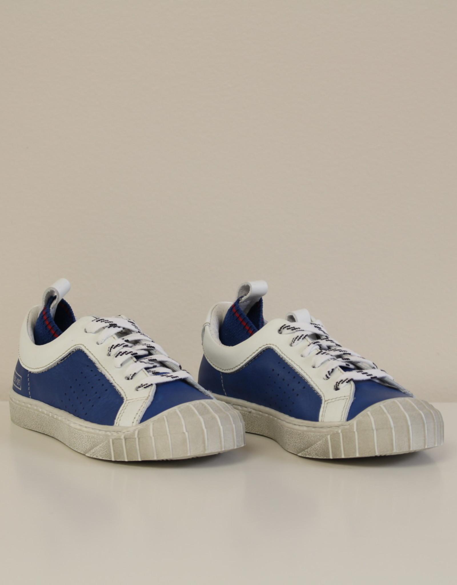 Momino E93807NS sneaker blauw/wit