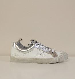 Momino E93807NS witte sneaker sok
