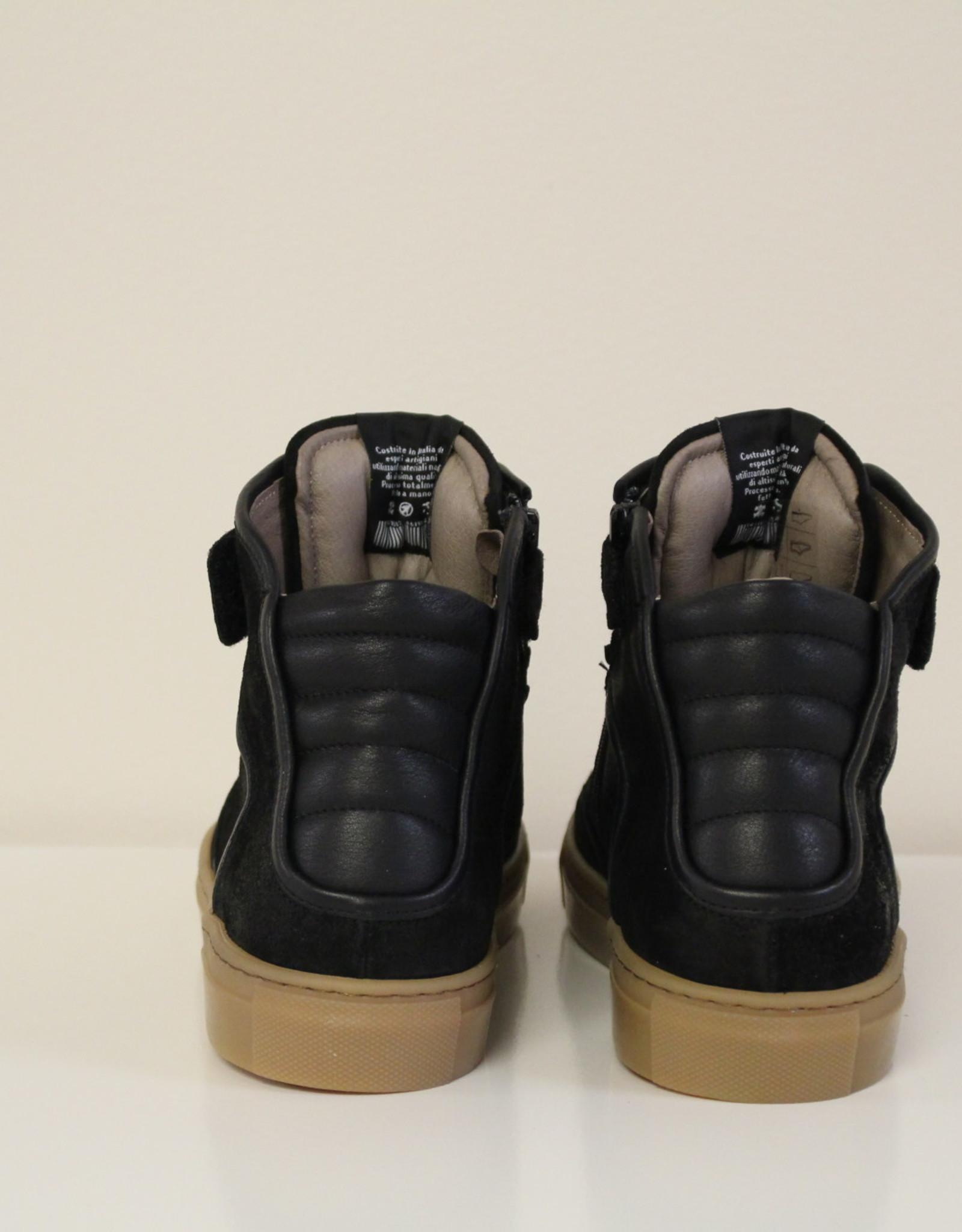 Momino 3730/3 hoge sneaker zwart