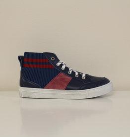 Momino 3805/12 hoge sneaker blauw