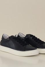La Triboo 8502 blauwe sneaker perforatie