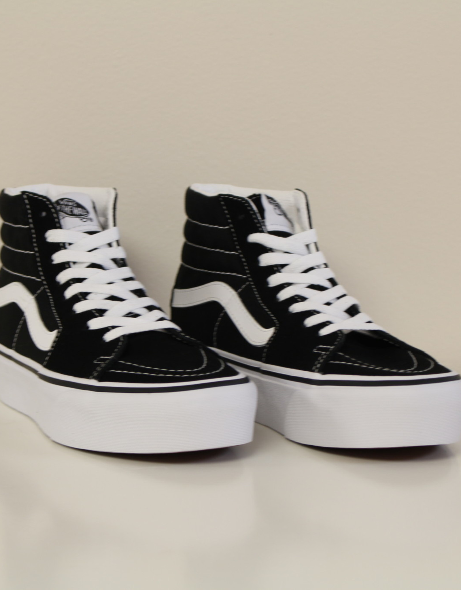 Vans VN0A3TKN6BT1 hoge sneaker zwart/wit