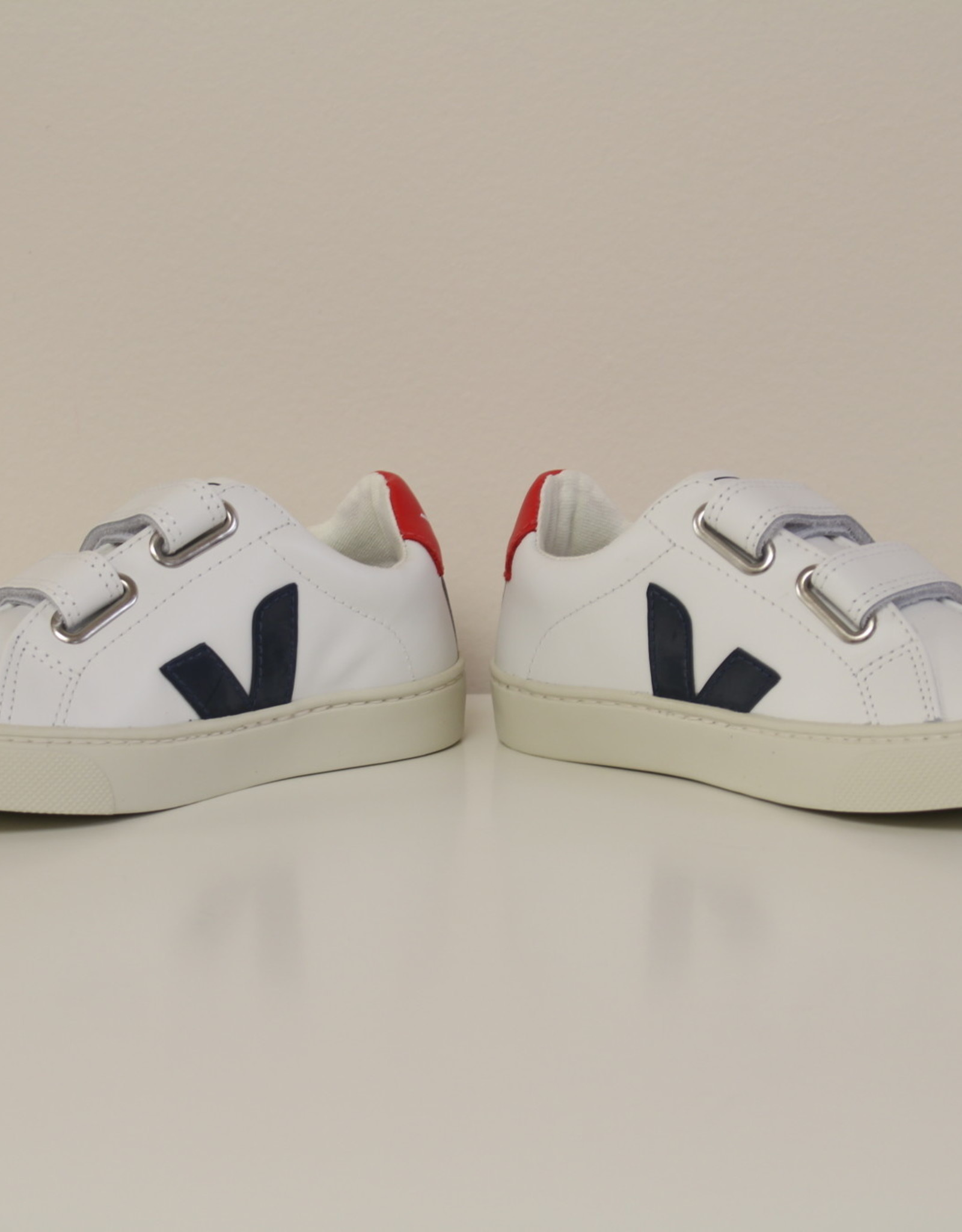 VEJA RSJV021233 sneaker wit blauw rood velcro