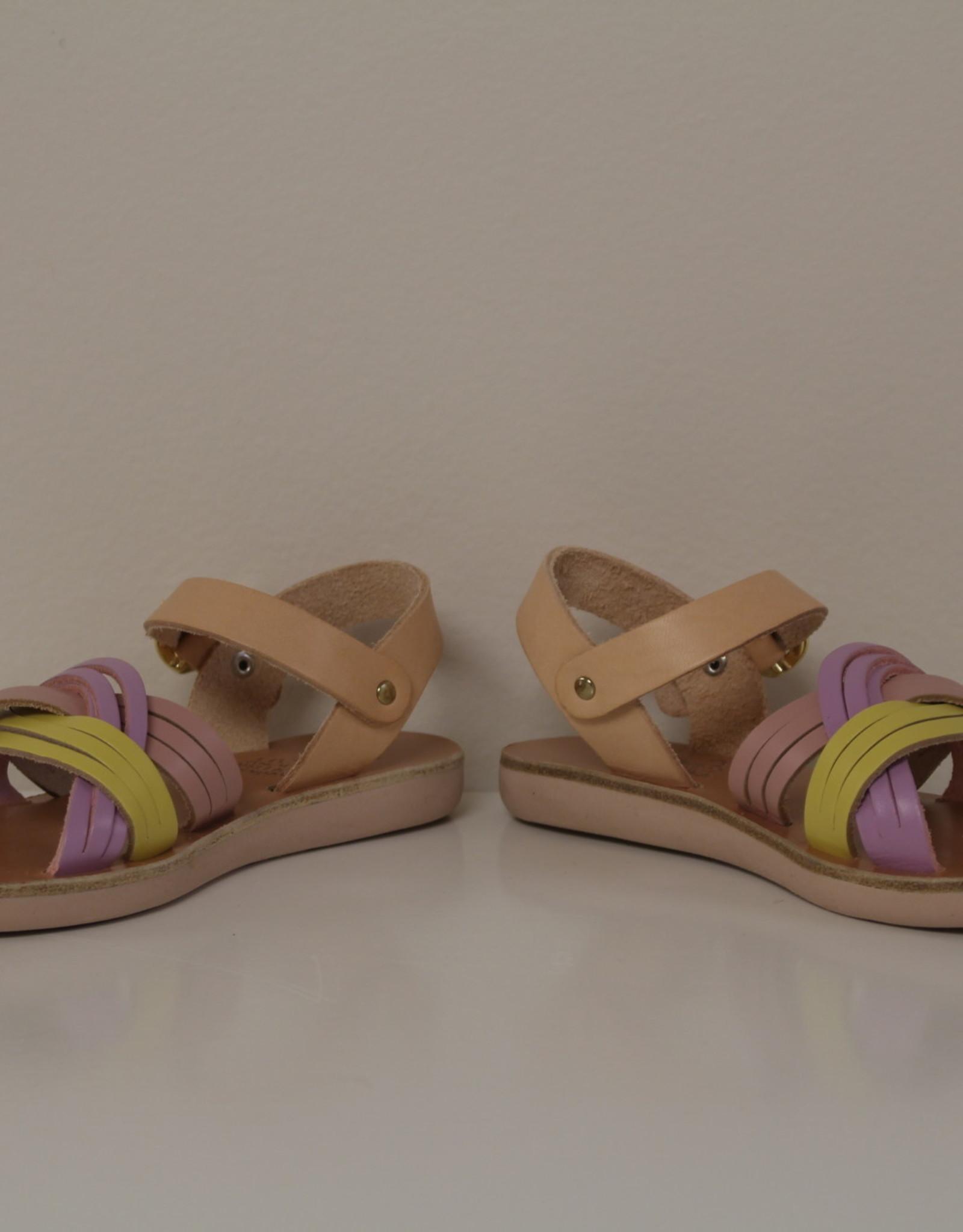 Ancient Greek Sandals little electra pale mix