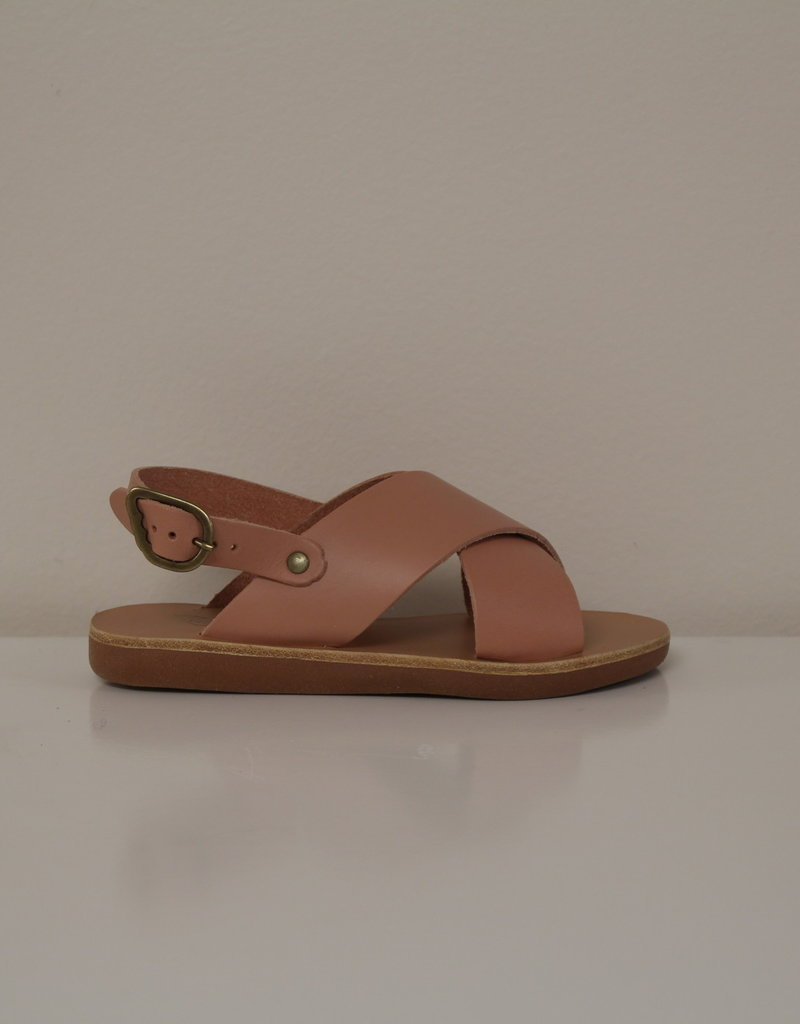 Ancient Greek Sandals little maria roseate