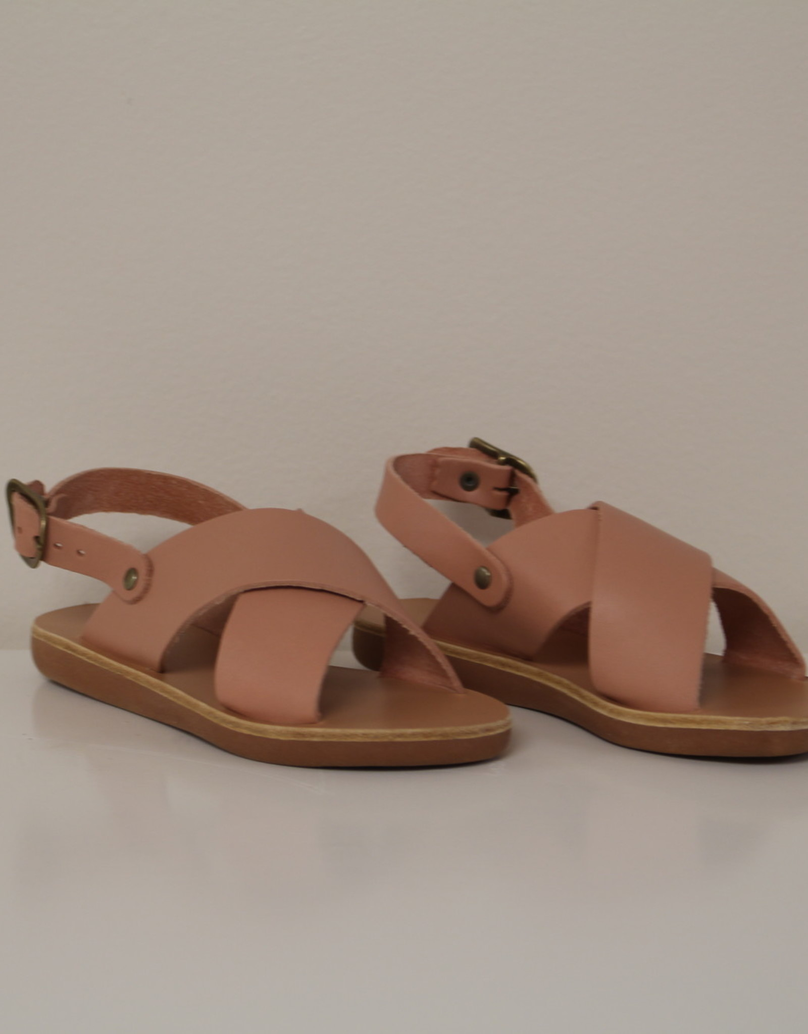 Ancient Greek Sandals little maria roseate