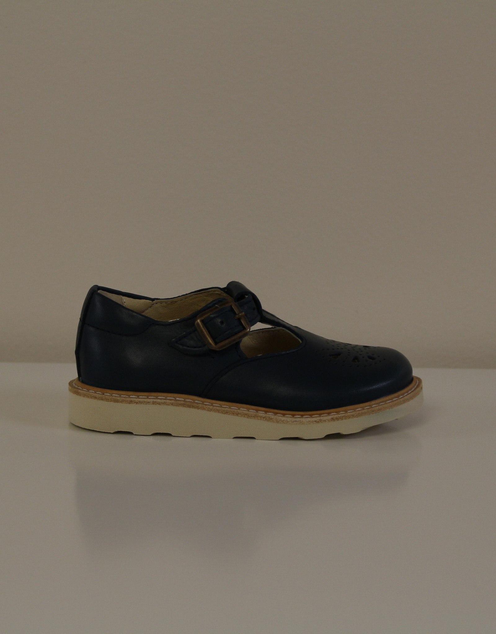 Young Soles Rosie leather T-bar shoe