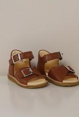 Angulus starter sandal velcro + buckle cognac