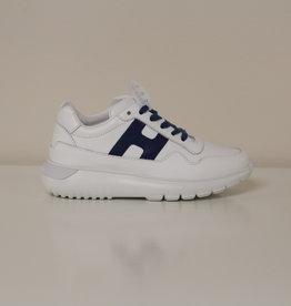 Hogan HXC3710AP30FH53P83 witte sneaker blauwe H