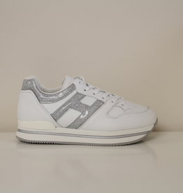 Hogan HXR2220T548NM40351 witte basket met zilver