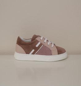 Hogan HXT3400CT20NN93 roze sneaker veter rits