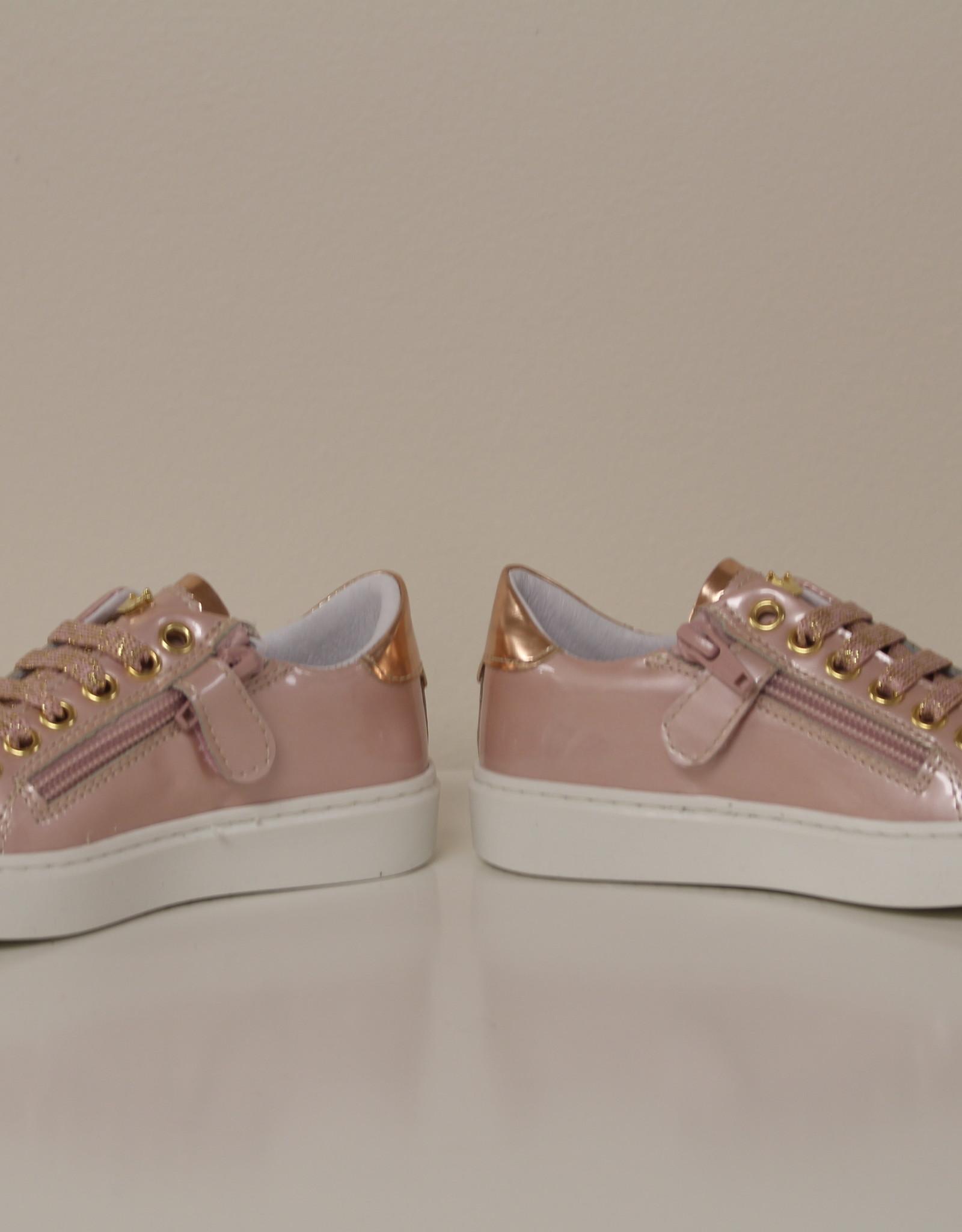 Banaline sneaker blinkend rosa antico